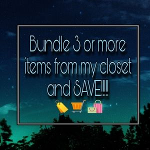 Bundle and SAVE!!!!